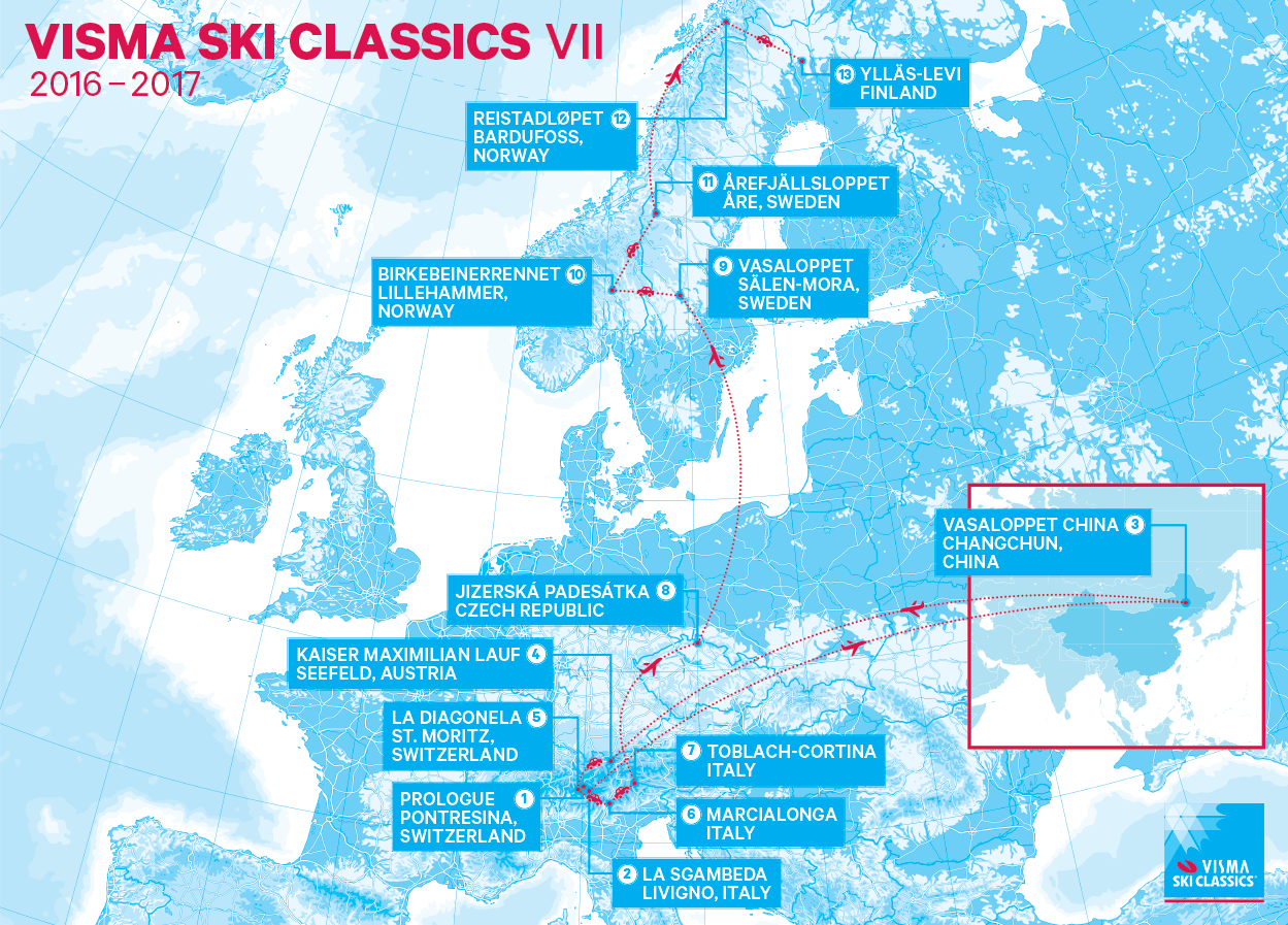 levi finland karta Visma Ski Classics expands to several new destinations including  levi finland karta